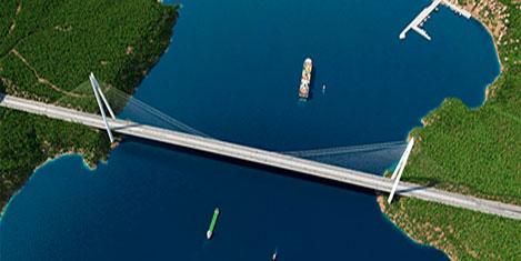 3. Köprü  Mayıs 2016'da açılıyor