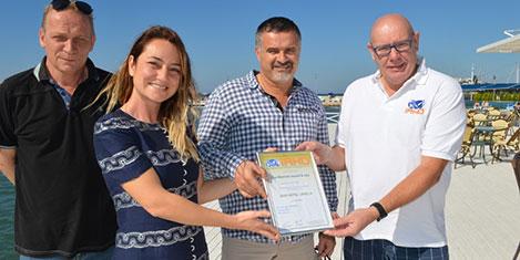 La Blanche Spa&Resort'a sertifika