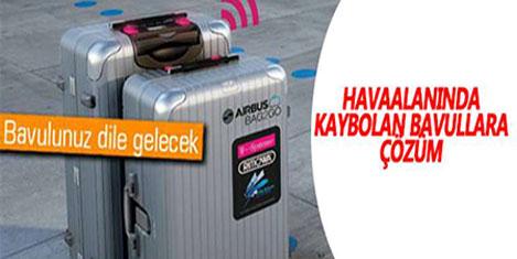 Kaybolan valiz için Bag2Go