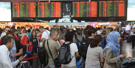 10 milyon Türk yurtdışına çıktı