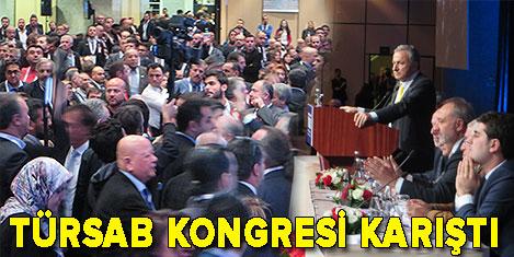 Kongrede Ulusoy'a tepki