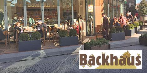 Backhaus, Göktürk'te açıldı