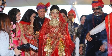Antalya Hint düğünü peşinde