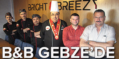 B&B kafe Gebze'ye fark getirdi