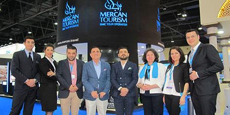 Mercan Turizm tanıtımı sürdürüyor