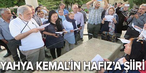 TUREV'den Şiraz'da Yahya Kemal şiiri