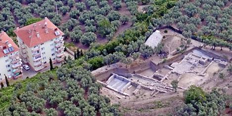 Mudanya'da 2700 yıllık antik kent