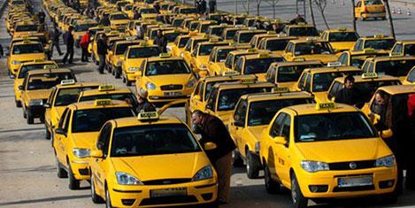 """Taksiciler artık """"Gurme"""" oluyor"""