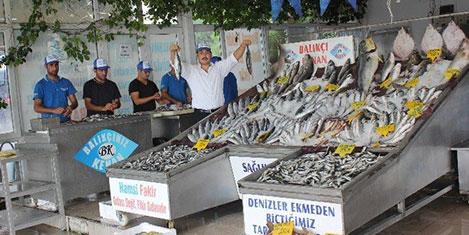 Yasak kalktı balık fiyatları ucuzladı