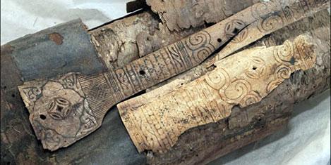 Moğol bir okçuya ait mezar bulundu