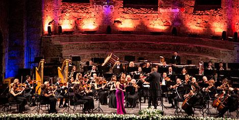 İstanbul Devlet Senfoni Aya İrini'de