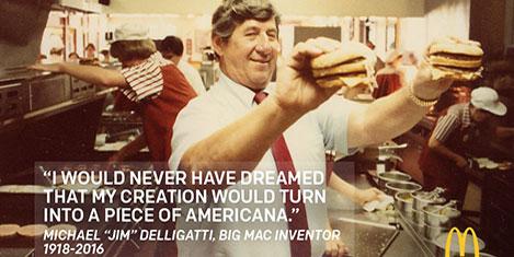 Big Mac'in mucidi hayatını kaybetti