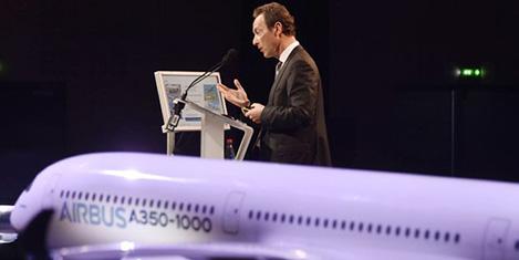 Airbus bu yıl hedefine uçtu