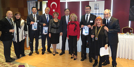 Skal İstanbul'da aşk konuşuldu
