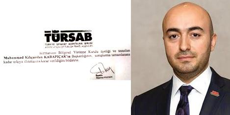 TÜRSAB BYK eski başkanı davası