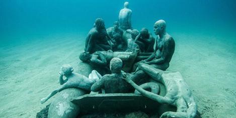 İspanya'da Denizaltı Müzesi açıldı