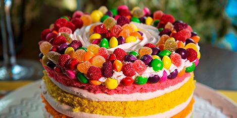 Qurabiye'de pasta ustalığı