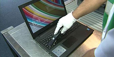 Avrupa'dan laptop yasağı kalkıyor
