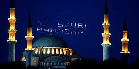 Ramazan ayı cebe girdi