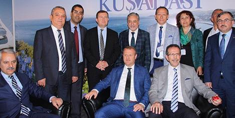 TURAB EXPO fuarı Kuşadası'nda açıldı