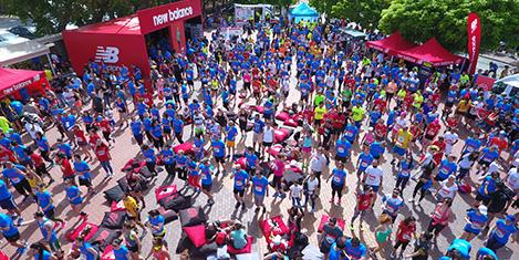 Maratonda 300 kişi koştu