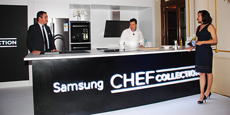 Samsung'a Michelin şeflerin ilhamı