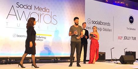 Jolly Tur'a Sosyal Medya Altın Ödülü