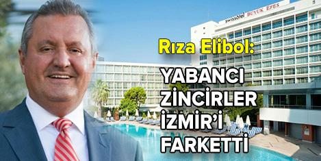 Yabancı otelcilerden İzmir'i yatırım