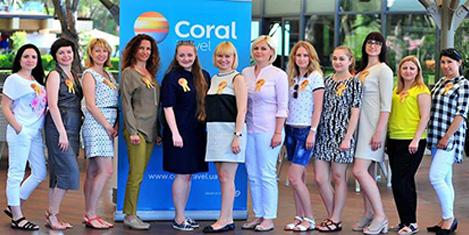 Coral, Ukraynalı gazetecileri ağırladı