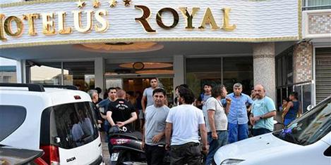 Marmaris'te bayramlık skandal