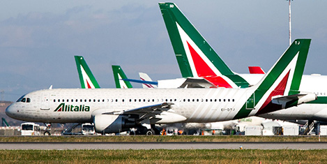 Alitalia için 5 firma yarışıyor