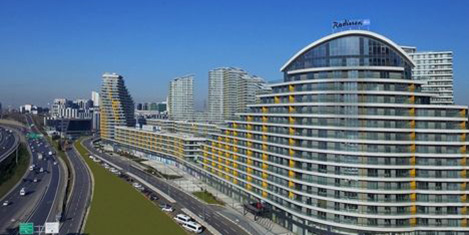 Radisson Blu, Batışehir'de açıldı