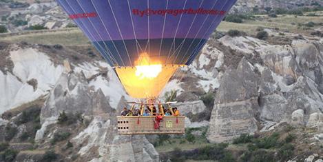 Kapadokya'yı balonlar 'uçurdu'