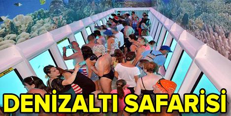 Ege'nin derinliklerinde 9 bin turist
