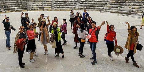 Çinli turistlerden rekor