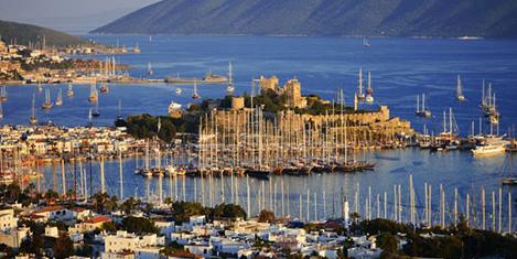 Turistler yeniden Türkiye'de