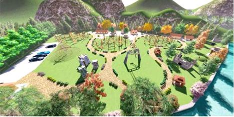 Uzungöl'e 'Macera Parkı' yapılıyor