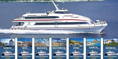 Yeşil Marmaris ile 7 Yunan adası