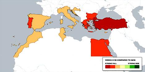 Türkiye'de otel fiyatları dalgalanıyor