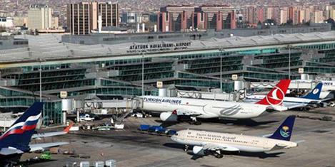 Atatürk Havalimanı'nda yılın rekoru