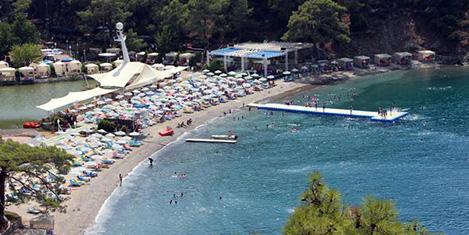 Fethiye'de ücretsiz sahil isyanı