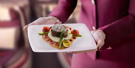 Qatar'da Premium'a seçmeli yemek