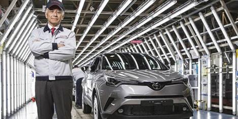 Toyota hibrit aracı Türkiye'de üretti