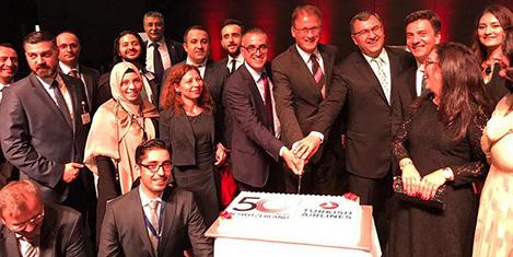 THY, İsviçre'deki 50'nci yılını kutladı