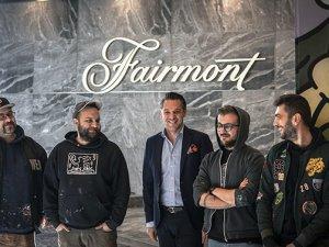 Fairmont Quasargraffiti sanatını sergiliyor