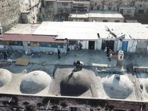 İstanbul'un göbeğinde tarih talancıları 'drone'a ateş açtı