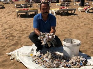 Çöp toplanırken plajlardan en çok sigara izmariti çıktı