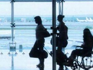 """Havalimanlarında""""engelsiz"""" ulaşım 75'i buldu"""