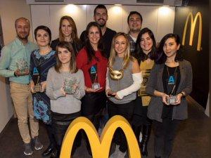 McDonald's Türkiye 2018'de 18 ödül kazandı