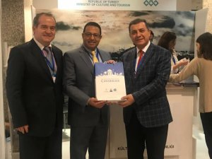 Dünya Turizm ve Kültür Konferansı'nda 'Troya'